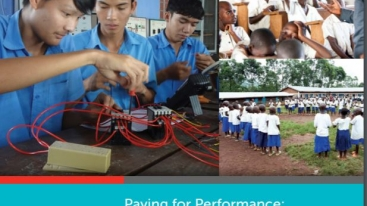 Paying for Performance Report Cover