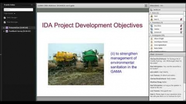 Embedded thumbnail for Innovations in Development Finance Webinar - Sanitation project in Accra, Ghana