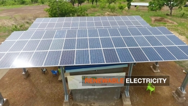 Embedded thumbnail for Video: In Ghana, Solar-Powered Mini-Grids Bring Security and New Economic Opportunities (1:02)