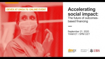 Embedded thumbnail for Accelerating impact: COVID-19 and the future of outcomes-based financing