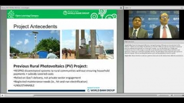 Embedded thumbnail for Lessons Learned Ghana Solar Home Systems