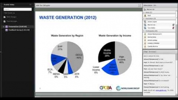Embedded thumbnail for Innovations in Development Finance Webinar - Results-Based Financing for Solid Waste Management