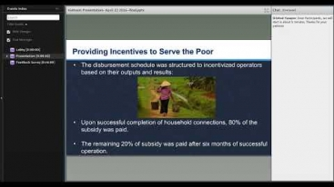 Embedded thumbnail for Innovations in Development Finance Webinar - Water for Rural Vietnam