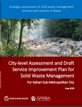 Nepal Solid Waste Management Report Cover - GPRBA