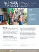 Expanding Hygienic Sanitation in Rural Bangladesh with Microfinance