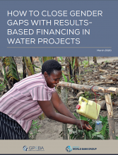 Closing Gender Gap with RBF in Water projects