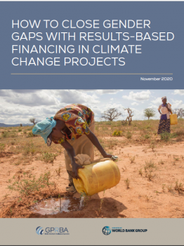 How to Close Gender Gaps with Results-Based Financing in Climate Change Projects - GPRBA