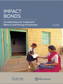 Cover of Impact Bonds Report