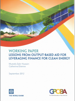 Leveraging Finance for Clean Energy