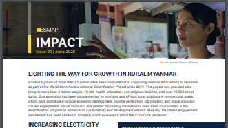Lighting the Way for Growth in Rural Myanmar