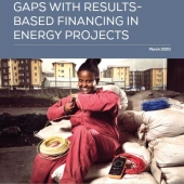Cover - How to Close Gender Gaps with Results-Based Financing in Energy Projects