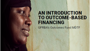 Cover: An Introduction to Outcome-Based Financing